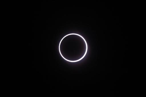 金環日食、中央・南アフリカ地域で観測
