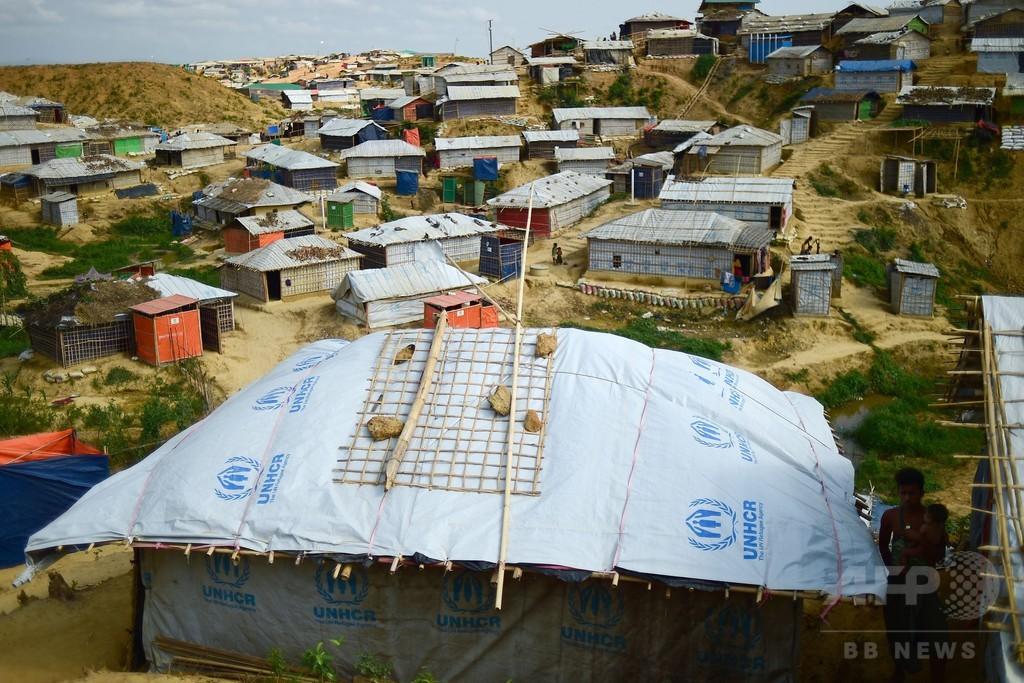 「家族が死んでしまう」、雨期到来で高まるロヒンギャ難民の危惧