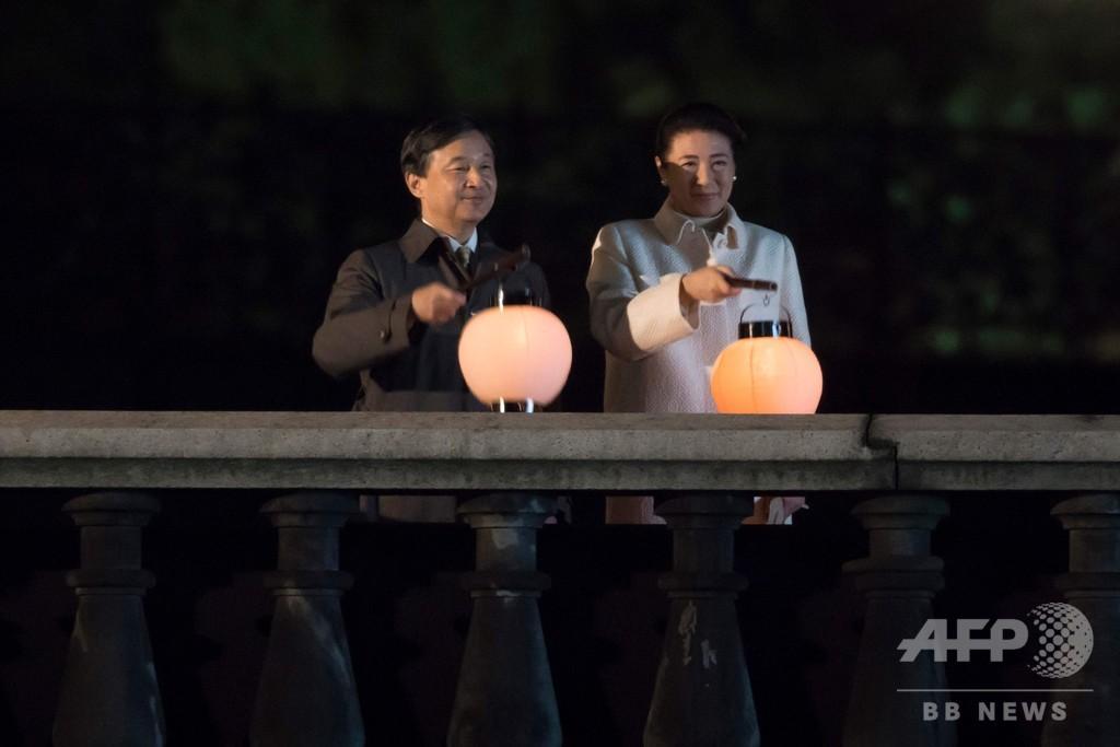 天皇陛下即位を祝う「国民祭典」、6万人が参加