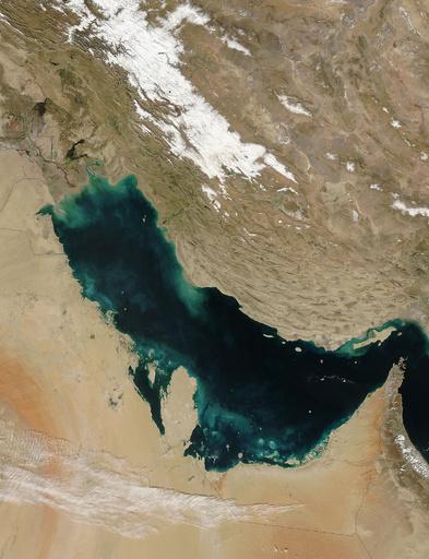 オマーン航空、「ペルシャ」湾呼称問題でフライトマップの使用中止