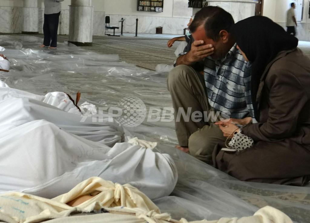 シリア化学兵器疑惑、国連が調査団受け入れを正式要請