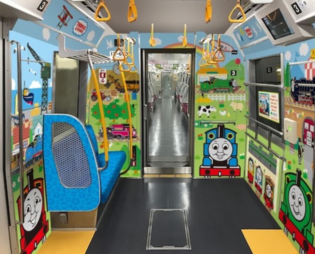「子育て応援スペース」を設置した車両の運行を開始します!