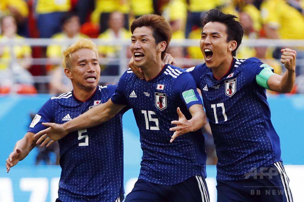 日本がコロンビアから金星、アジア勢はW杯史上初めて南米チ―ムに勝利