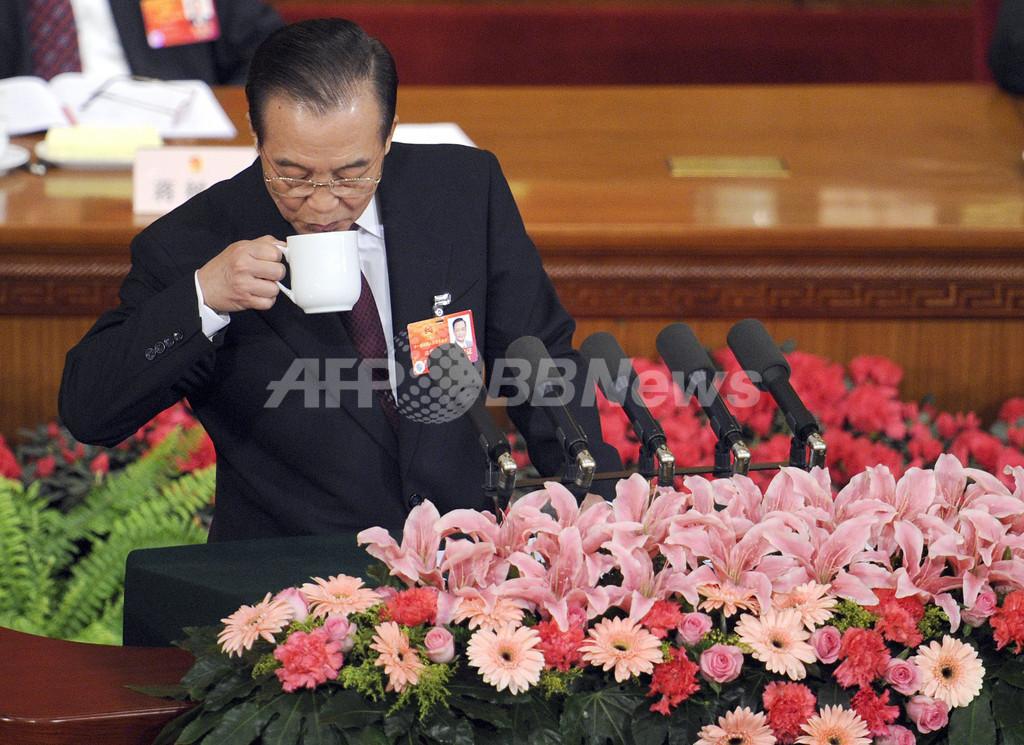 中国首相、「地域戦争」勝利に軍事力強化を表明 施政方針演説