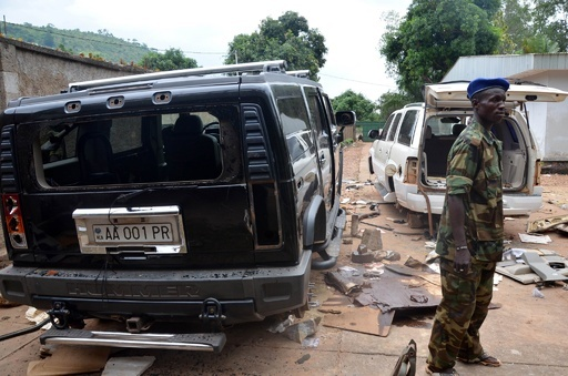 中央アフリカ・ボジゼ大統領の邸宅から2人の白骨遺体
