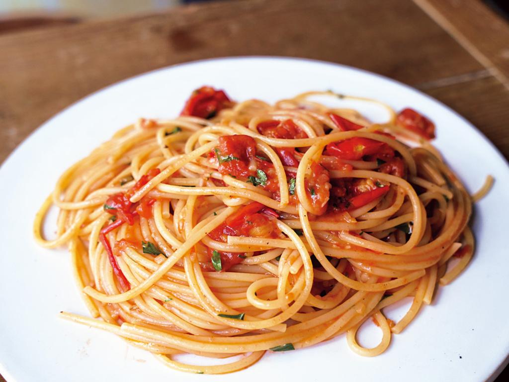 <Cuisine>フレッシュトマトのパスタ