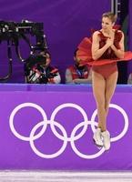 フィギュア女子SPで6位のコストナー、平昌五輪