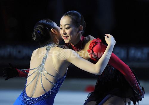 国際ニュース:AFPBB News再び相まみえる浅田とキム・ヨナ、世界フィギュア