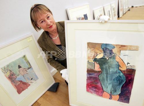 世界初となるボブ・ディランの絵画展、ドイツで開催