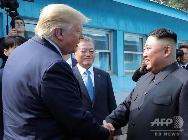 米朝首脳会談は「驚くべき想像力」の結果、韓国・文大統領が称賛