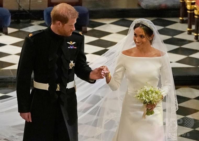 ヘンリー王子とメーガン妃、新婚旅行はおあずけ 早々と公務へ