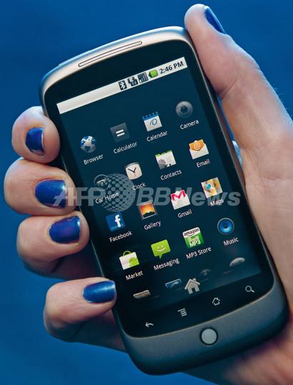 グーグルに試練、新型スマートフォン「ネクサス・ワン」の販売伸び悩む