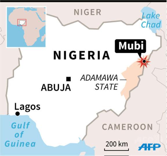 ナイジェリア北東部のモスクで自爆攻撃、50人死亡