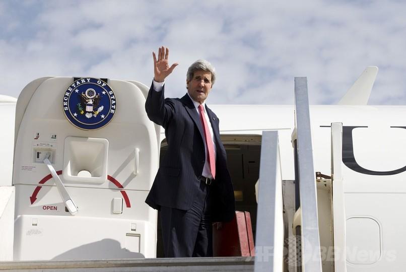 中東和平交渉に崩壊の危機、米国務長官 中東訪問を中止