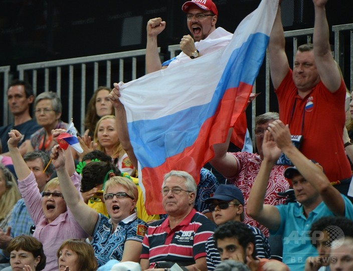 ロンドン五輪出場のロシア人8選手、ドーピング再検査で陽性が判明