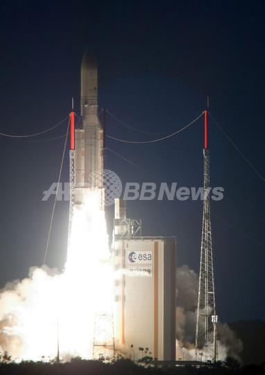 アリアン5、衛星2機の軌道投入に成功