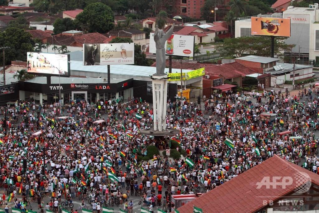 ボリビア大統領選、開票監査トップが電撃辞任 「公平さ損なわれる」