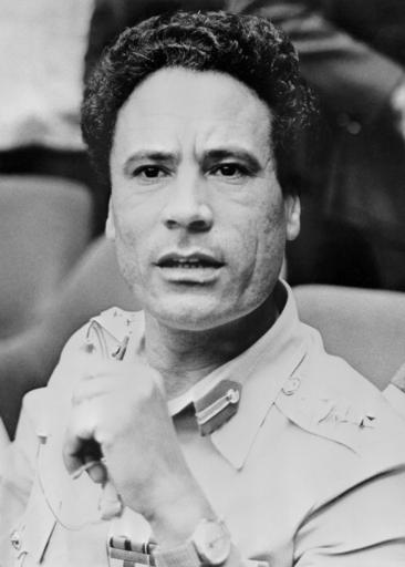 【写真特集】リビアの最高指導者、ムアマル・カダフィ大佐