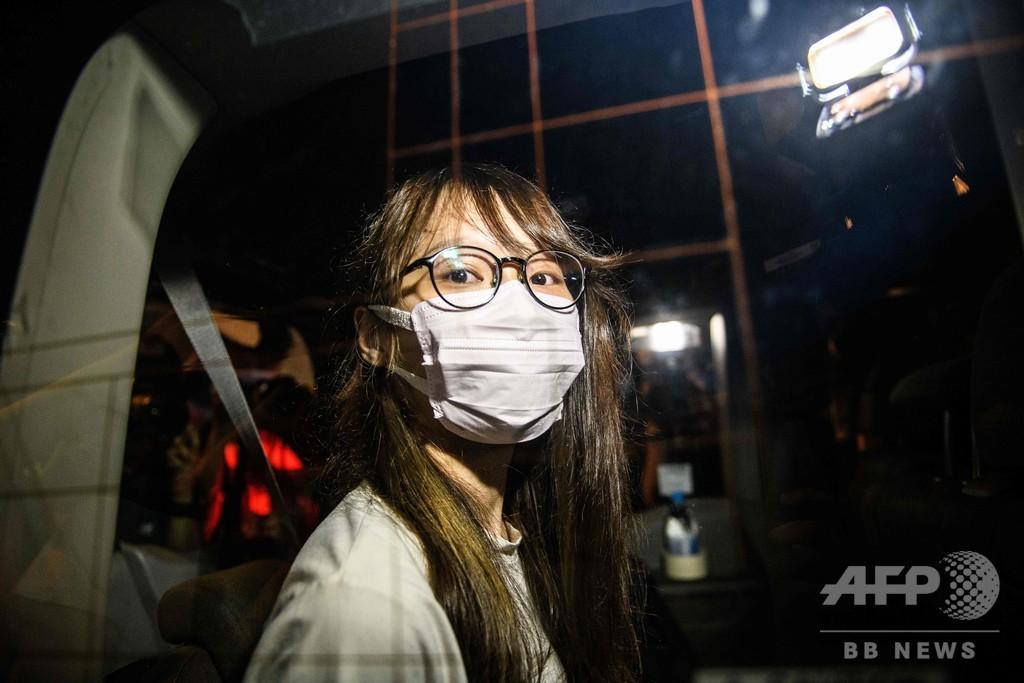 民主活動家の周庭氏、国安法違反で逮捕 香港