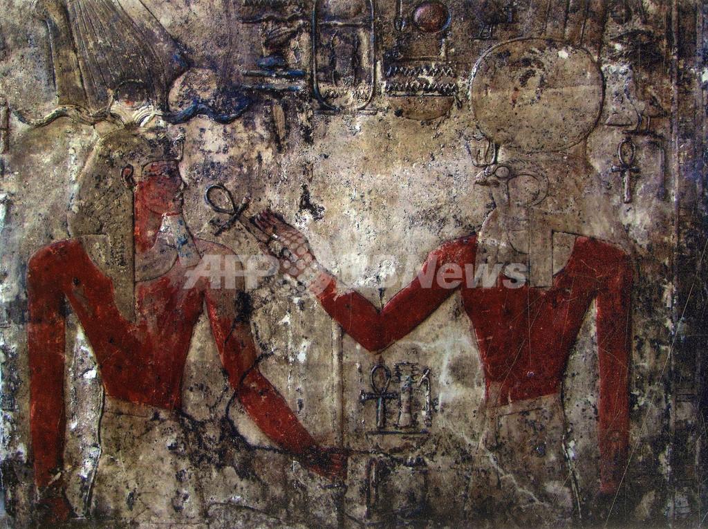 古代エジプト王朝の「暗黒時代」の謎を解く壁面彫刻を発掘