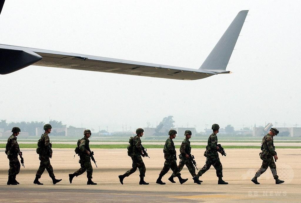 米軍が誤送付の炭疽菌、26人が接触か 在韓基地などで