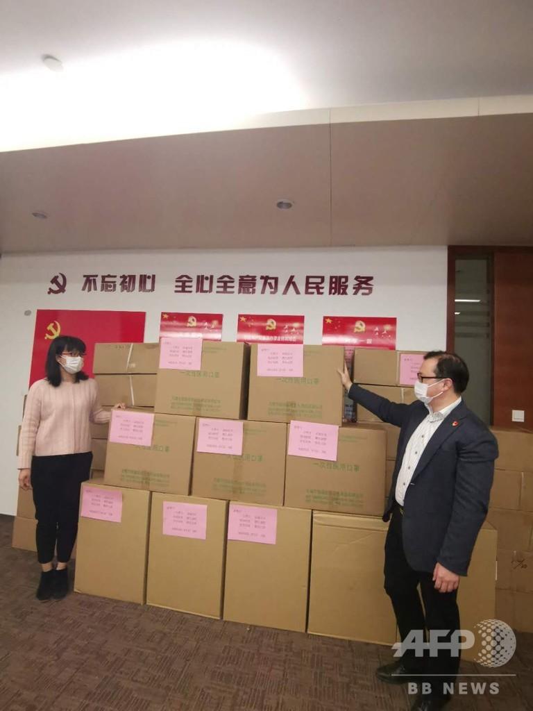 「マスク在庫不足」の豊川市へ恩返し、知らせを受け 江蘇省無錫市が5万枚発送