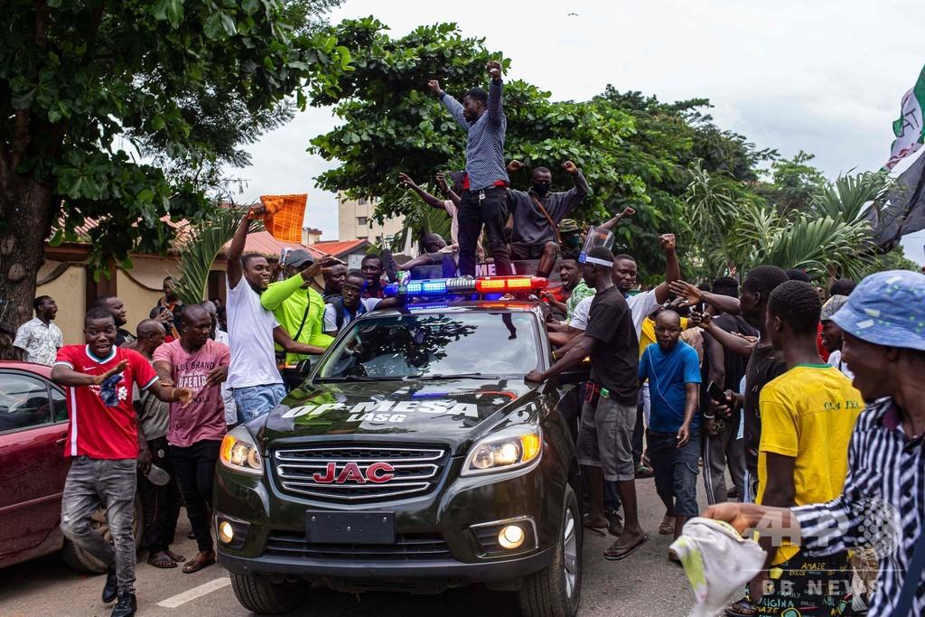ナイジェリア治安部隊がデモ参加者を「殺害」、人権団体