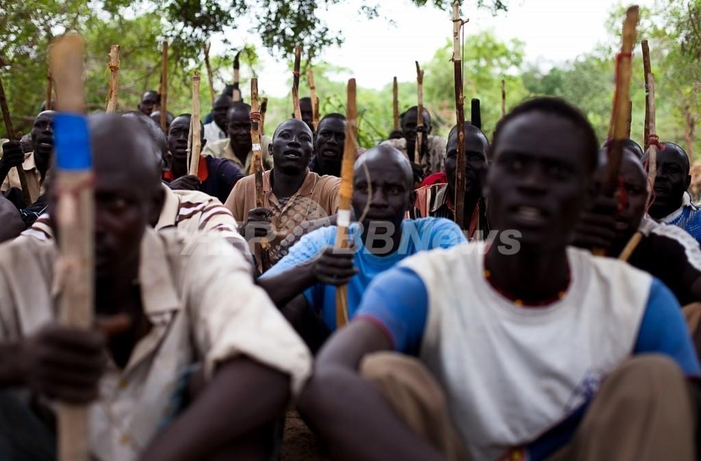 スーダンで武装勢力が中国人作業員29人連れ去る