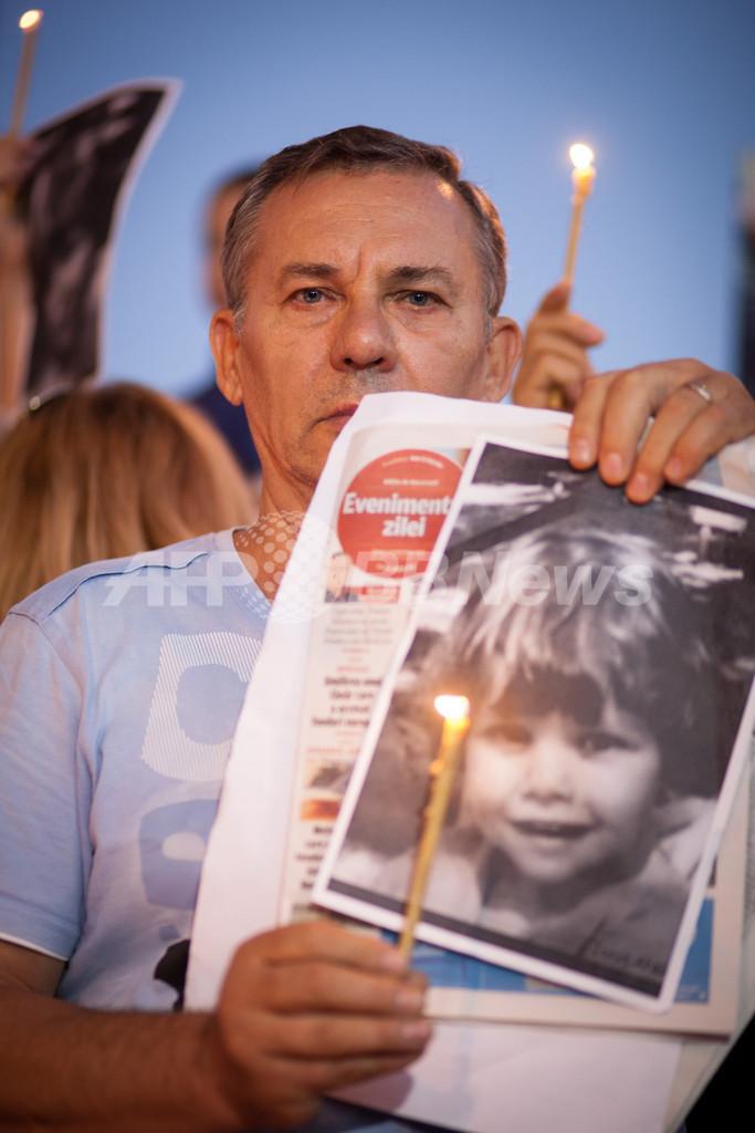 4歳児が野良犬にかまれ死亡、対策求め数百人がデモ ルーマニア首都