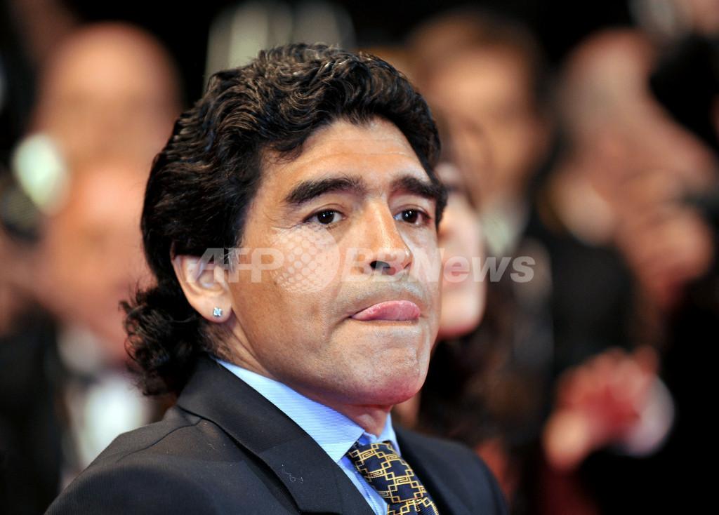 カンヌ映画祭『Maradona by Kusturica』上映会にクストリッツァ監督、マラドーナ登場