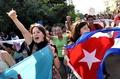 歓喜に沸くキューバ国民、米との国交正常化交渉で