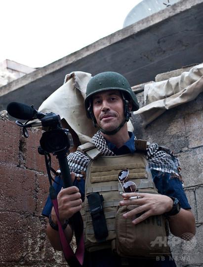 「イスラム国」、米国人記者の「斬首」映像公開