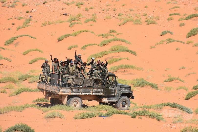 シリア政府軍、東部の要衝デリゾールのIS包囲網を突破