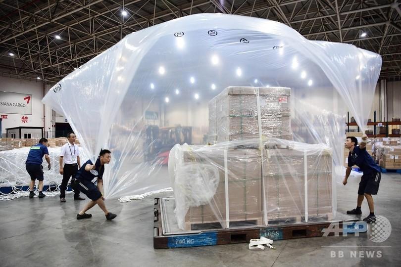 深センからチェンナイへ専用便 中国製造業の海外進出を後方支援