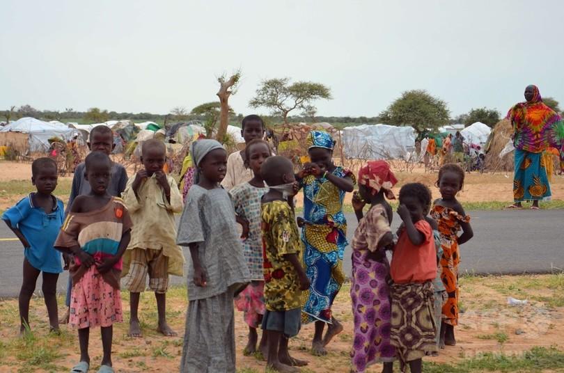 ボコ・ハラム襲撃激化、子ども50万人超が避難生活 ユニセフ