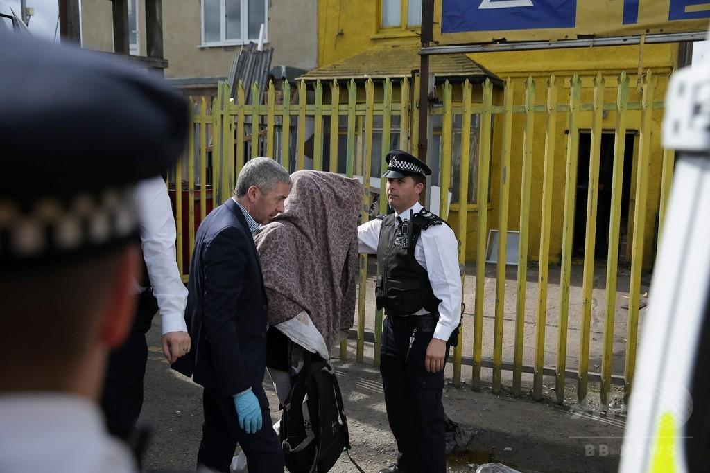 英ロンドン襲撃事件、新たに2か所で強制捜査 複数人を拘束
