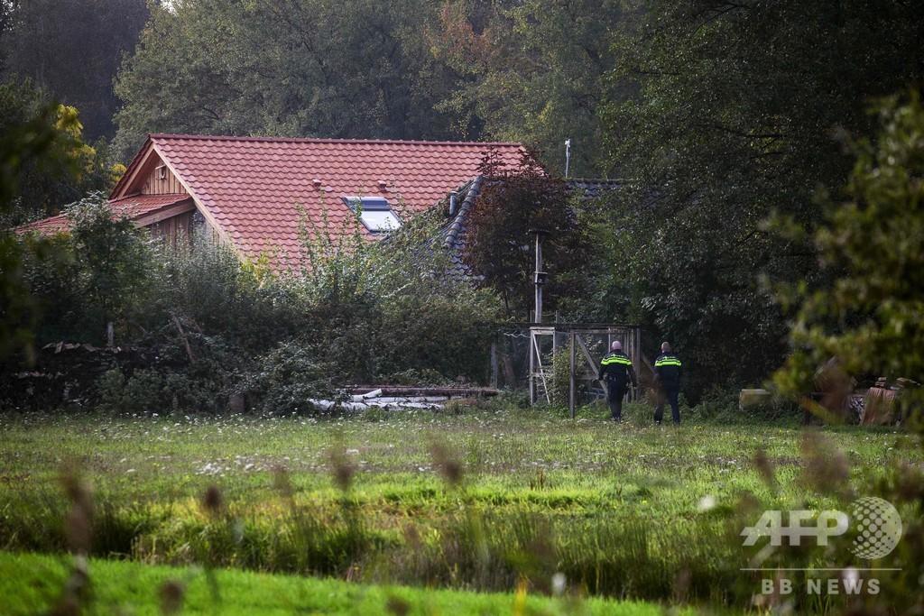 農家で発見の一家、オーストリア人の男に監禁容疑 オランダ