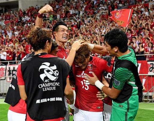 浦和が大逆転4強、終盤のゴールラッシュで10人の川崎下す ACL