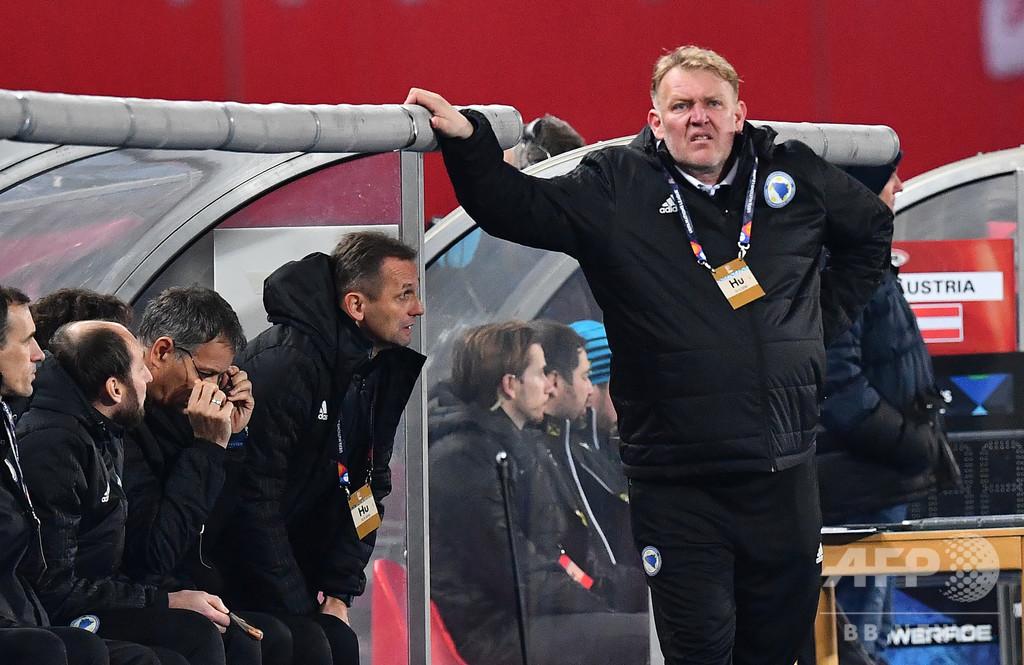 ボスニアのプロシネチキ監督が辞意撤回、「まだ出場の可能性ある」