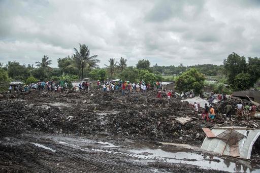 ごみ山が崩落、17人死亡 モザンビーク首都