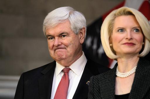 ギングリッチ氏元妻「不倫認めろと要求された」、米共和党予備選に影響か