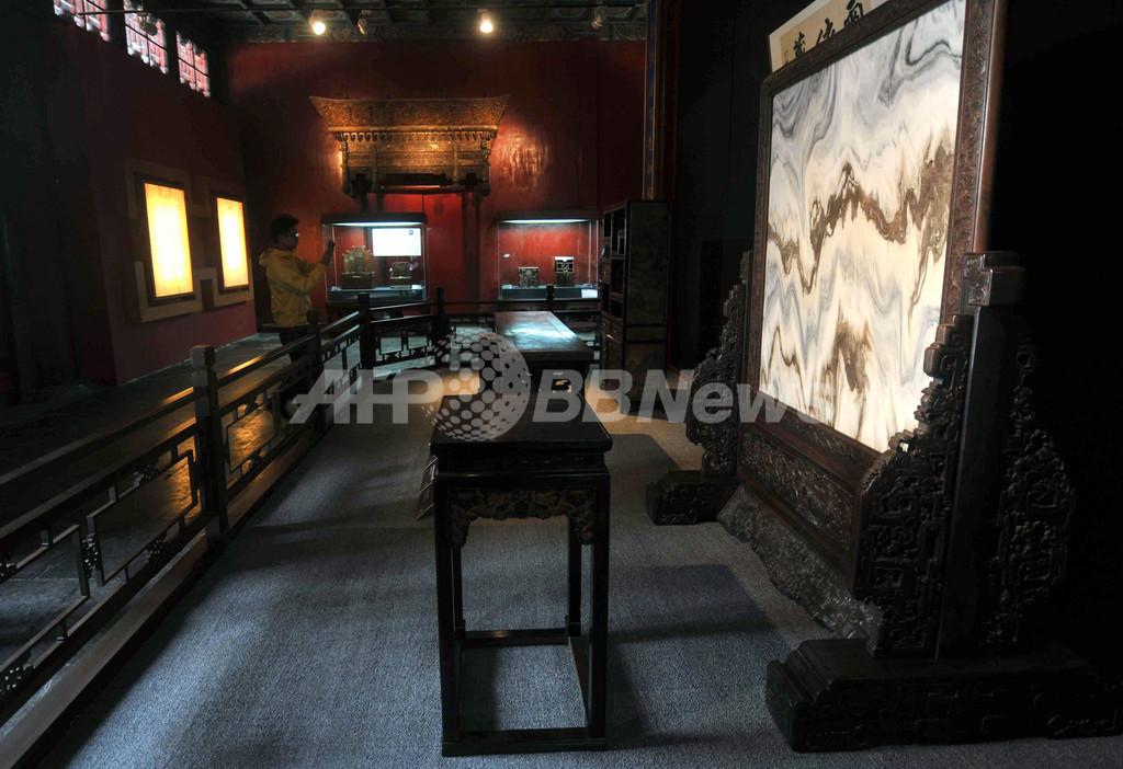 北京の故宮博物院で展示品盗難、男を逮捕