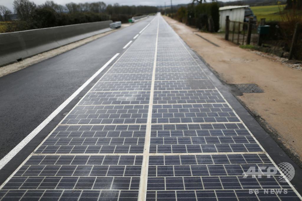 「ソーラーパネル幹線道路」は失敗、次世代パネルで再挑戦へ フランス