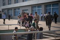 【写真特集】北朝鮮、首都平壌の「日常」