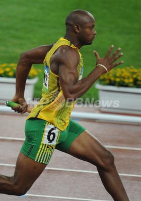 ジャマイカ 男子4x100メートルリ...