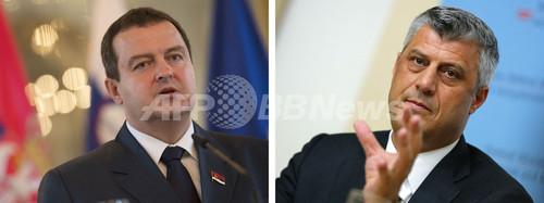 セルビアとコソボが歴史的合意、関係正常化へ前進