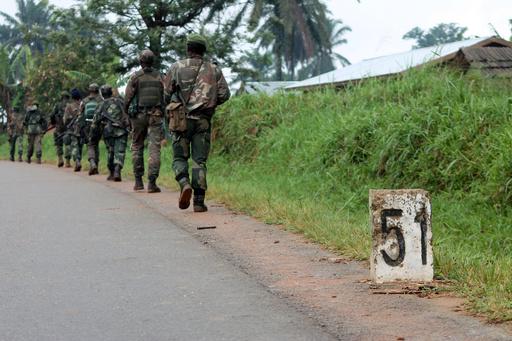 コンゴ東部で武装集団が36人殺害、隣国ウガンダの反政府勢力か