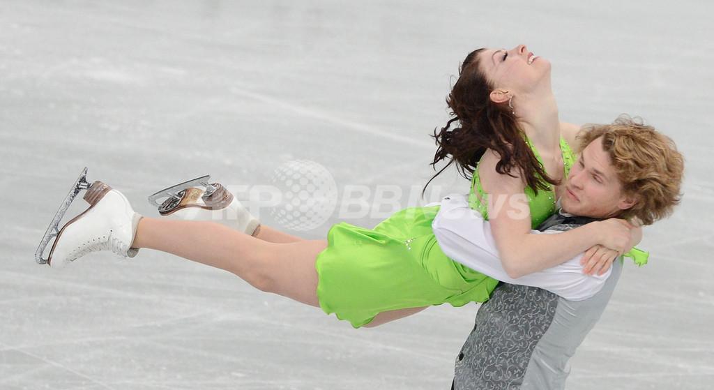 デイビス/ホワイト組がアイスダンス制す NHK杯