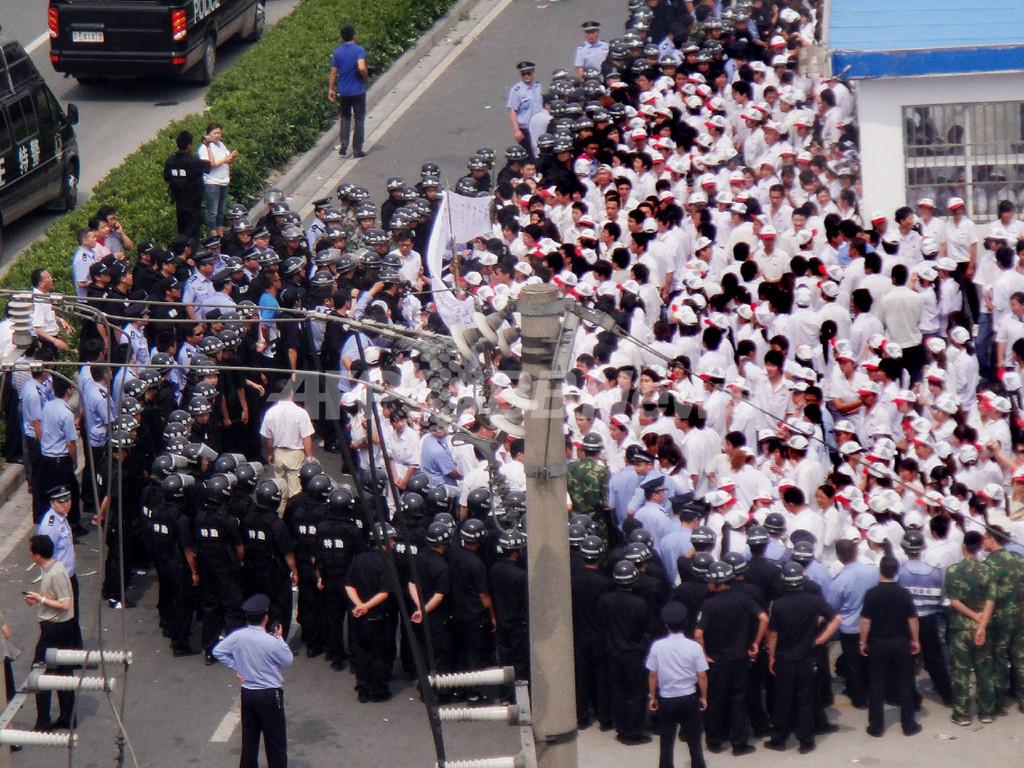 中国工場でスト相次ぐ、ホンダ3件目 台湾系工場では暴動で50人負傷
