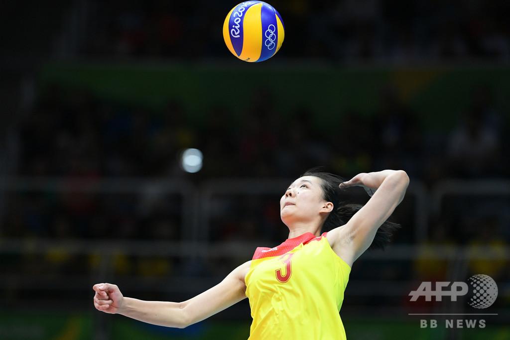 リオ五輪女子バレー金の中国人選手、4年間の出場停止処分に